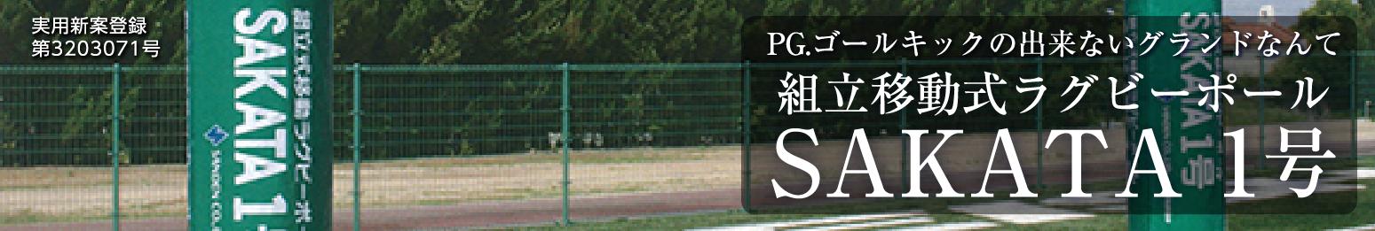 組立移動式ラグビーボール SAKATA 1号
